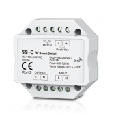 Skydance SS-C Led Controller Non-Dimmable 100-240VAC 3A RF 2.4GHz & Push Switch