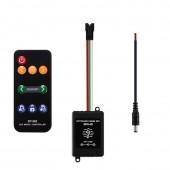 SP106E RGB LED Controller RF Wireless SPI for WS2811 WS2812B SK6812 APA102 Pixel Light 5-12V