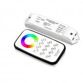 BC-T8+R3M Bincolor Led Controller Multi Zone Control Wireless Remote Receiver Set