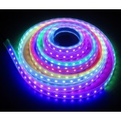 DC 12V TM1812 Digital Pixel RGB LED Strip 5M 300LEDs Flex Light