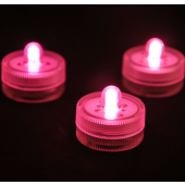 Waterproof Underwater Battery Powered Submersible LED Tea Candle Light 2Pcs