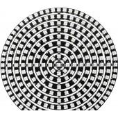 WS2812B DIY RGB LED Ring 37 to 241 Pixels SK6812 Addressable 5V Circle Arduino
