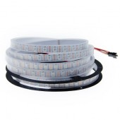 WS2813 DC 5V Dual-signal Wires RGB LED Pixel Strip 5M 300LEDs
